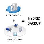 hybrid backup solutions