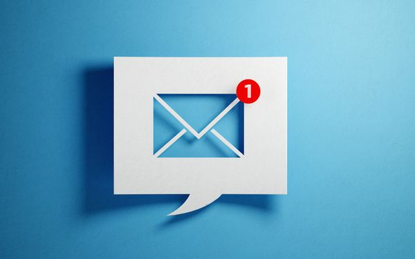 email chat box